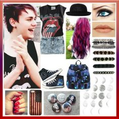 To The Moon -asleep-1035 My Summer 2014 look inspired by Michael Clifford from 5 Seconds Of Summer. 1 of 4 of my new collection, Summer 2014- 5SOS Inspired. Check it out! http://www.polyvore.com/summer_2014_5sos_inspired/collection?id=3674198 #5SOS #5SecondsOfSummer #MichaelClifford #Michael5SOS