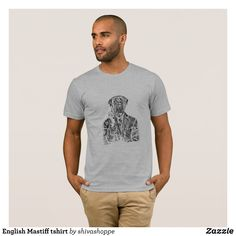English Mastiff tshirt - Classic Relaxed T-Shirts By Talented Fashion & Graphic Designers - #shirts #tshirts #mensfashion #apparel #shopping #bargain #sale #outfit #stylish #cool #graphicdesign #trendy #fashion #design #fashiondesign #designer #fashiondesigner #style