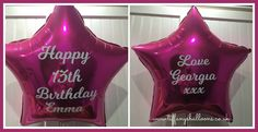 18 Inch Personalised Foil Balloon