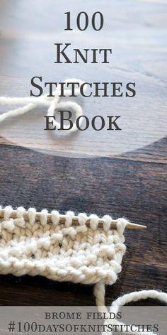 Seed Stitch Rib Knit Stitch : Day 11 of the 21 Days of Beginner Knit Stitches : Brome Fields : Beginner Knitting Patterns, Knitting Stiches, Knitting Videos, Easy Knitting, Knitting Needles, Knitting Yarn, Knitting Projects, Knit Stitches, Knitting Tutorials