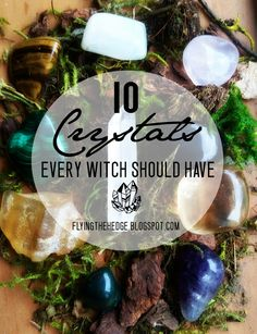 While you don't need  any tools, herbs, or crystals to perform witchcraft, there are some crystals that can enhance your spells and ritua...