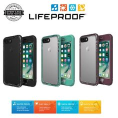LifeProof NUUD Case Cover For Apple iPhone 7 iPhone 7 Plus Waterproof Authentic #LifeProof