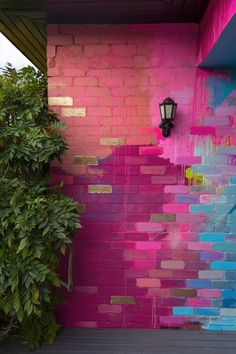 Creative Garden Ideas 481744491392269294 - Camille Javal's Portfolio – Senior Art Brick Wall Background, Home Remodeling Diy, Indian Home Decor, Indian Bedroom Decor, Diy Bedroom, Home Decor Furniture, Funky Furniture, Paint Designs, Home Decor