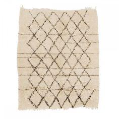 Madesign Beni Ouarain, Moroccan Vintage Rug, From Atlas Mountain