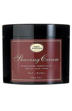 The Art of Shaving® Sandalwood Shaving Cream available at #Nordstrom