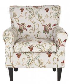 Safavieh Home Furnishings - Hazina Club Chair, $395.00 (http://www.safaviehhome.com/casual-accent-chairs-hazina-club-chair/mcr1002a)
