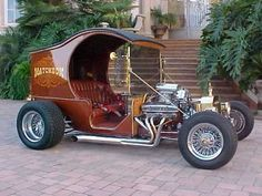 1912 Ford C Cab Hot Rod