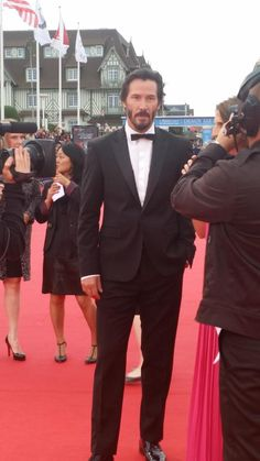 Keanu Reeves, Deauville, France Sept 2015