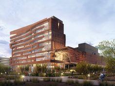 Phoenix Biomedical Campus - Biosciences Partnership Building ( Phoenix, AZ) CO Architects
