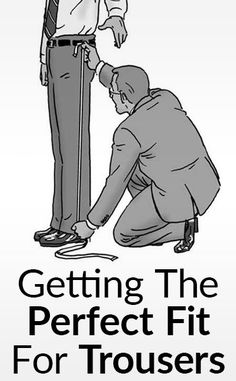 Sewing Men Clothes How To Find Measurements For Men's Dress Pants - Do you know your trouser size? This post shows how to find the exact measurements for men's trousers. Men Trousers, Mens Dress Pants, Men Dress, Men Pants, Mens Dress Outfits, Men Shorts, Pant Shirt, Sewing Men, Sewing Pants