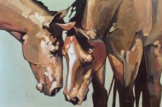 """Gossip"" - Originals - All Artwork - Peggy Judy 