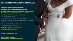 RT @FourPointsLagos: You can still plan that small and intimate wedding this new year Why not check out our exquisite wedding package. #fourpointslagos #wedding #lagoswedding #events #weddingevents #nigerianweddings #mywedding #weddingnigeria #asoebi #m http://bit.ly/2qiyLXO