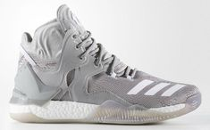 more photos c4ffd 8ab17 Authentic adidas D Rose 7 Smoke Grey Discount Sale