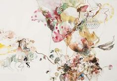 Untitled (EHR-46) from Sweet Corruptions (2012) Watercolor And Graphite On Paper 29h x 42w in (73.66h x 106.68w cm)