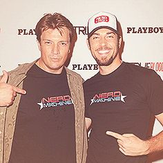 Fillion and Levi. So much win!
