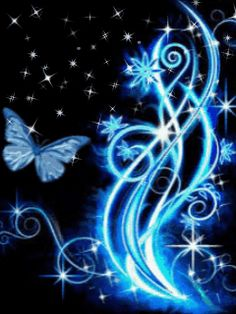 animated blue | download blue butterfly and tree wallpapers for samsung mobile back
