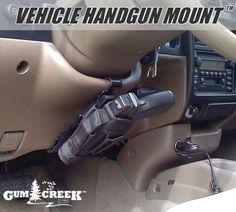 Gum Creek Vehicle Handgun Mount Steering Wheel