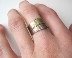Feather ring? YES!