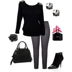 Winter 11 (plus size outfit), created by smileyjane on Polyvore