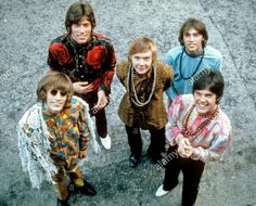 """""""Looking Up"""" Bee Gee's! Robin, Vince, Colin, Barry & Maurice."""