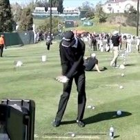 Sean O'Hair Golf Swing Video – 2013, Face On View, Slow Motion, Iron #Slowmotiongolfswing