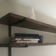 Amanda Olivieri added a photo of their purchase Shelf Brackets Industrial, Steel Shelf Brackets, Wooden Shelves, Wall Shelves, Black Shelves, Coffee Table Legs, Creative Coffee, Iron Shelf, New Home Gifts