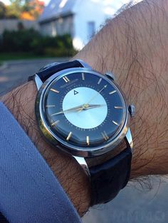 Superb Jaeger LeCoultre Memovox Automatic In Stainless Steel