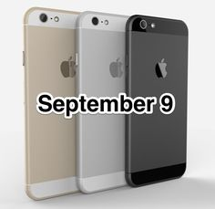 iPhone 6 launch date is set for September 9!