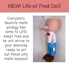 Life of Fred Dolls Just in Time for Christmas - Educents Blog