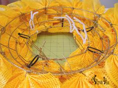 Sunflower Wreath Tutorial Trendy Tree Blog