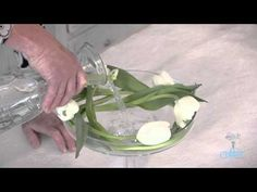 Flowers & Floristry Tutorial: What to do with Droopy #Tulips - YouTube