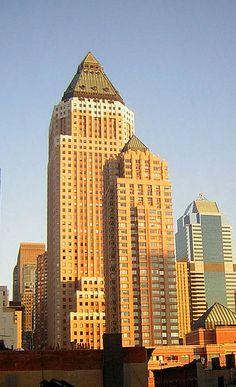 http://en.wikipedia.org/wiki/One_Worldwide_Plaza One World Wide Plaza & Glen-Gery Brick! #brick #architecture #glengery