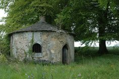 """The stunning """"Ink Bottle Lodge"""" in Co. Offaly, Ireland."""