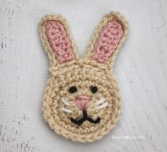 Here is Day 18 of my26 Days of Crochet Animal Alphabet Appliques! R is for Rabbit This Rabbit is a great appliqué to save for Easter or Spring! You could also use it for the letter B for Bunny. Materials: – Worsted weight yarn. I used Lion Brand Vanna's Choice in beige and pink with …