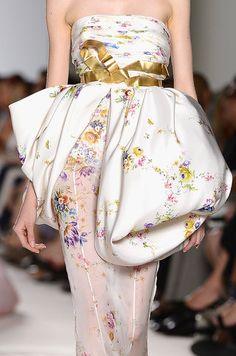 Giambattista Valli Haute Couture Fall 2013  Detail
