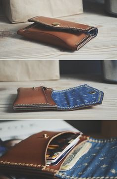 Wallet+cardholder / Blue cotton http://ruki-kryki.ru/en/shop/cards_wallet_colors/wallet_cards_blue_cotton/