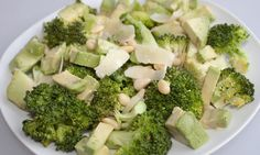Recipe: Broccoli, Avocado and Pinenut Salad with Parmigiano Reggiano http://healthfoodlover.com/hfl/2012/01/18/recipe-broccoli-avocado-pinenut-salad-parmigiano-reggiano/