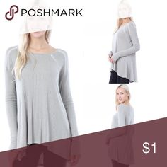 Sage Thermal Rib With Trim Detail Top Sage Thermal Rib With Trim Detail Long Sleeve Top  🔸94%Rayon 5%Spandex 1%Polyester 🔸Made in USA  ✔️Serious buyers please & No Low ballers!  To me it's asking half or more off an item.   ✔️All BTQ are Items are New. However, they may or may not come with attached tags. It depends on how the Vendor sends them.   ✔️Please understand the sizes listed on the size chart are different between manufacturers & suppliers & this chart should only be used as an…