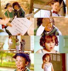 """""""Dear Darla, I hate your stinking guts, you make me vomit. You're the scum between my toes. Love, Alfalfa""""  Little Rascals"""