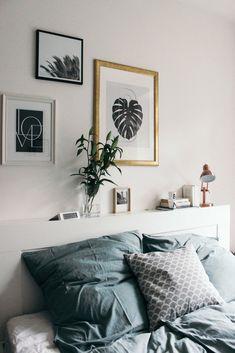 Home Story in Hamburg, mit Nori: Industrial Interieur, Skandinavische Einrichtung und Urban Jungle. Mit dabei: String Regal, Sostrene Grene und viele Blumen.