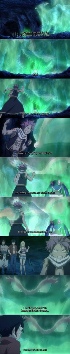 Fairy Tail Ep 176: the jade dragon