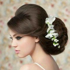 Hair style for wedding