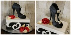 Another shoe cake to benefit Hannah's Home.
