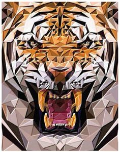Davis and Bendis Ronchetti of Milan-based Illulian & C designed this beautiful, graphic tiger rug.