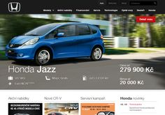 Honda web 2012 by PragueBest , via Behance