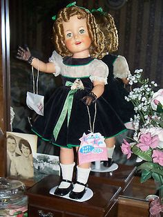 "Shirley Temple 19"" rare."