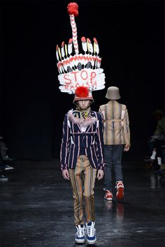 fashion statement Walter Van Beirendonck Fall/Winter 2014