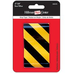 The Hillman Group 2-in x 2-ft Safety Tape- Lowes