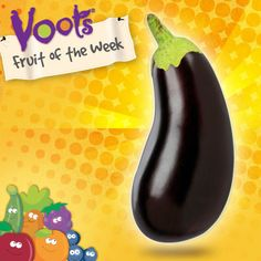 Did you know #eggplant is a member of the Nightshade family and is technically classified as a berry?