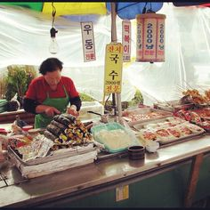 #seoul #korea STREET FOOD!!